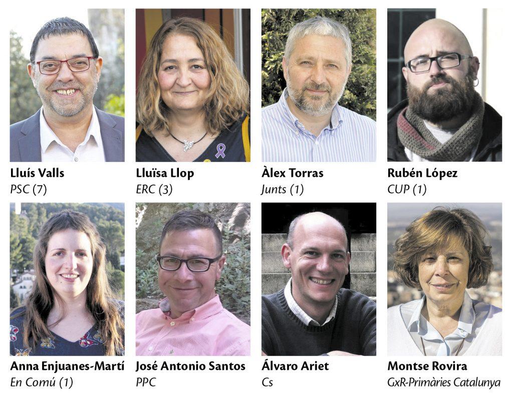 La Bustia eleccions municipals 2019 candidats Gelida