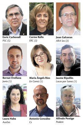 La Bustia eleccions municipals 2019 candidats Sant Esteve