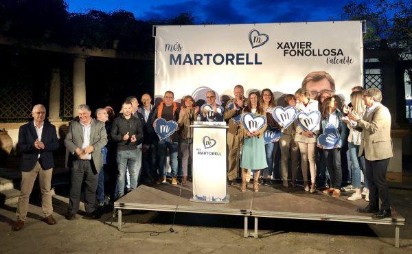 La Bustia inici campanya candidats Junts per Martorell
