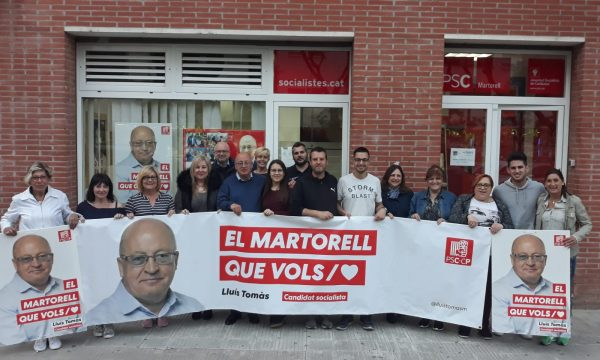 La Bustia local PSC Martorell