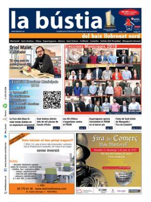 La Bustia portada edicio maig 2019