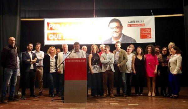 La Bustia presentacio llista PSC Gelida 2019