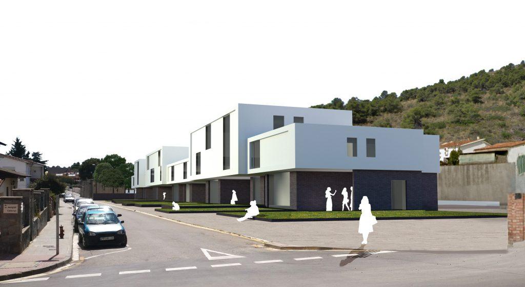 La Bustia projecte habitatges carrer Sant Antoni a Masquefa