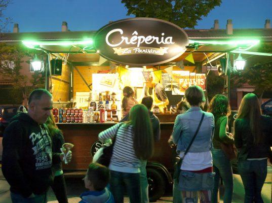 la bustia street food