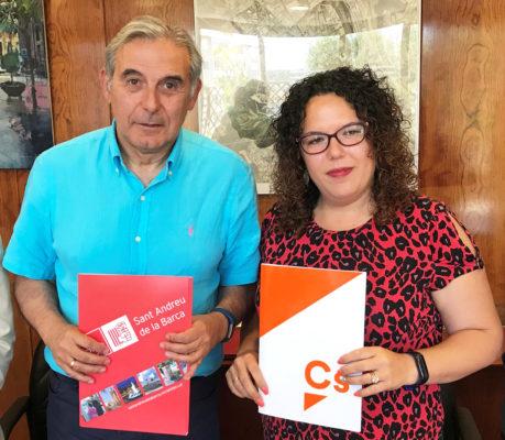 La Bustia PSC i Cs pacte de govern Sant Andreu