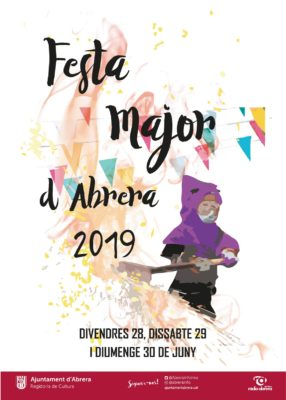 La Bustia cartell Festa Major Abrera 2019