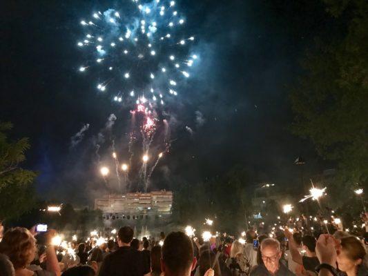 La Bustia festa de la musica piromusical Festa Major Olesa 2019