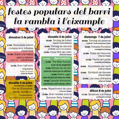 La Bustia Festa rambla-eixample Olesa