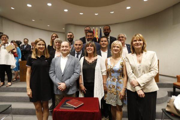 La Bustia PSC amb Nuria Marin i Enric Llorca Diputacio Barcelona