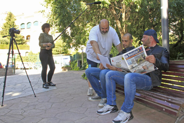 La Bustia gravacio film SARA Gelida