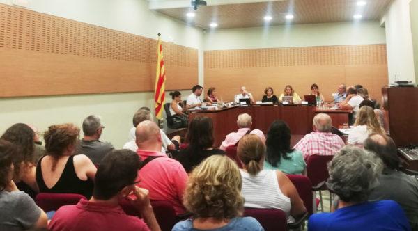 La Bustia sala de plens 15 de juliol 2019 Gelida