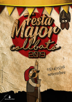 Collbato - La Bustia - Cartell Festa Major