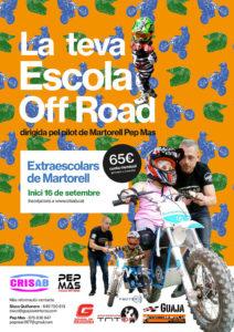 Esports - La Bustia - Cartell escola Off Road