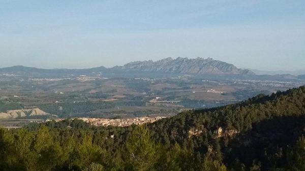Gelida - La Bustia - muntanyes Ordal