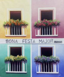 La Bustia Pepa Besson balcons Olesa
