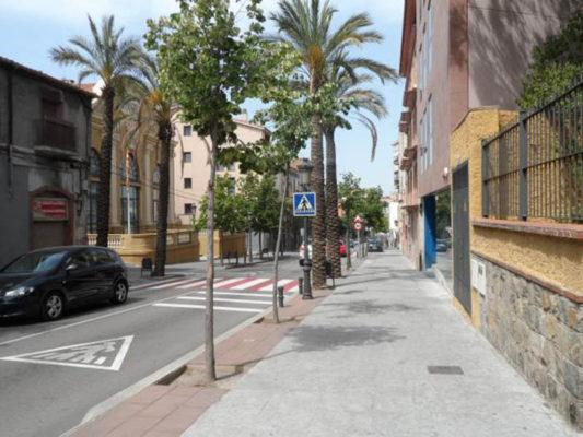 Martorell - La Bustia - Carrer del Mur
