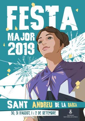 Sant Andreu - La Bustia - Cartell Festa Major 2019