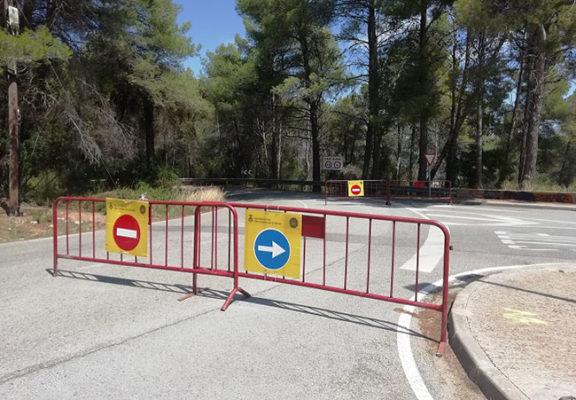 Sant Andreu de la Barca - La Bustia - Transit rodat