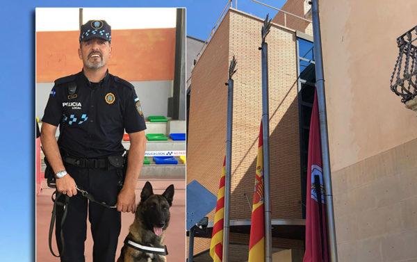 Sant Esteve - La Bustia - agent policia mort