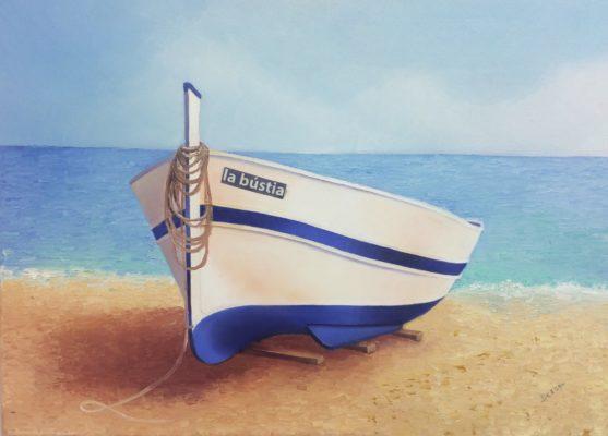 La Bustia Pepa Besson barca Olesa