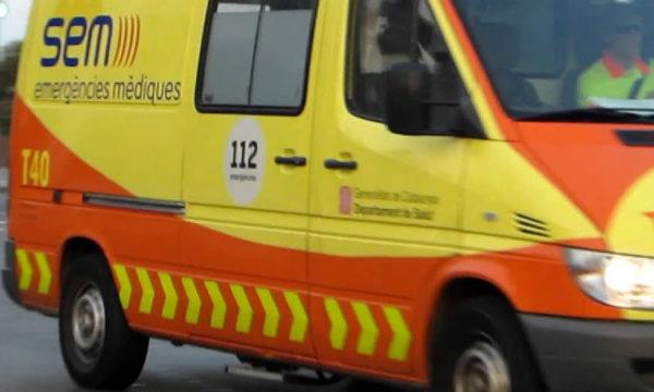 Sant Andreu - La Bustia - Accident