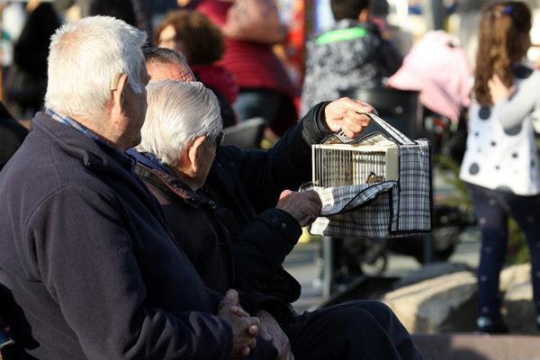 Sant Andreu - La Bustia - gent gran
