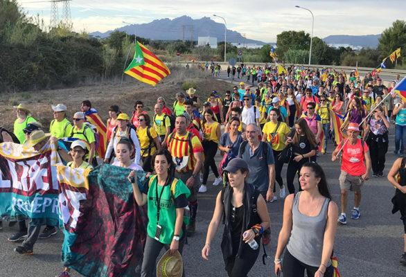 Comarca - La Bustia - Marxa per la llibertat