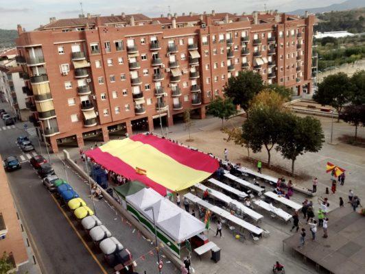 La Bustia bandera Espanyola