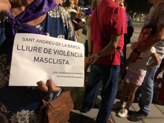 Sant Andreu - La Bustia - violencia de genere