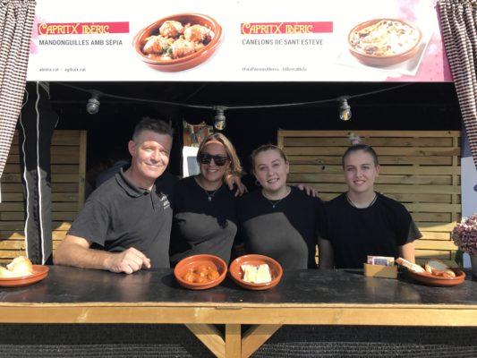 la bustia fira gastronomica els porrons abrera 2019