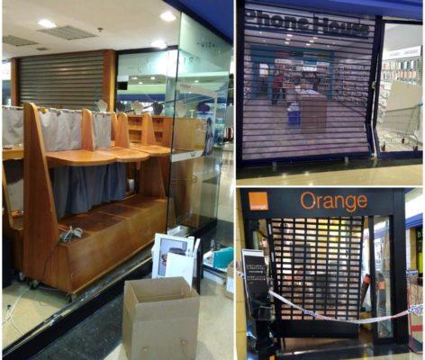 Abrera - La Bustia - robatori Montserrat Centre Comercial
