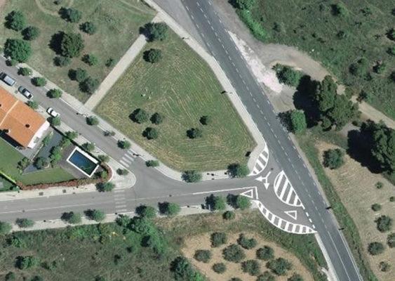 Collbato - La Bustia - obres rotonda B112