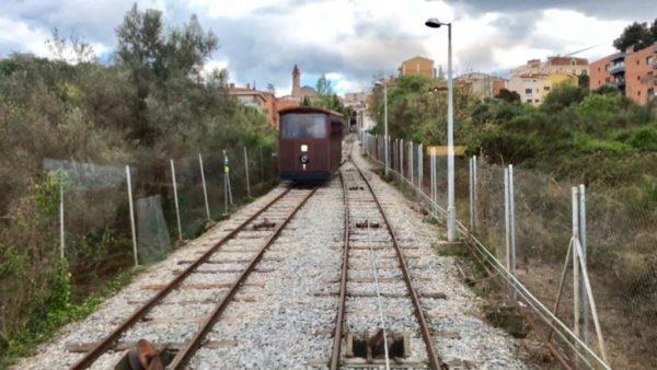 Gelida - La Bustia - Funicular vista 1