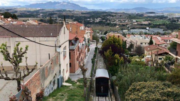 Gelida - La Bustia - Funicular vista 2
