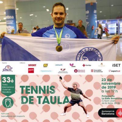 La Bustia Jordi Morales tennis taula Esparreguera Sant Andreu