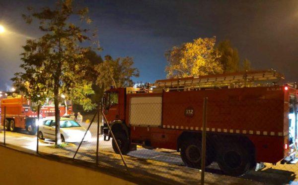 La Bustia bombers incendi empesa Abrera