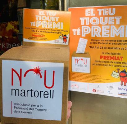 La Bustia campanya el teu tiquet te premi Nou Matorell