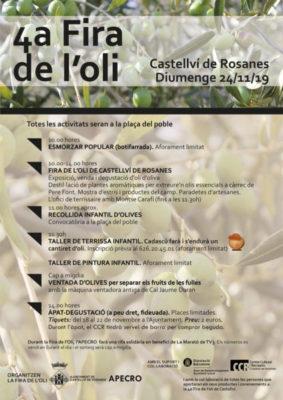 La Bustia cartell fira oli Castellvi 2019