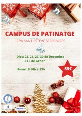 Esports - campus patinatge - La Bustia - Sant Esteve