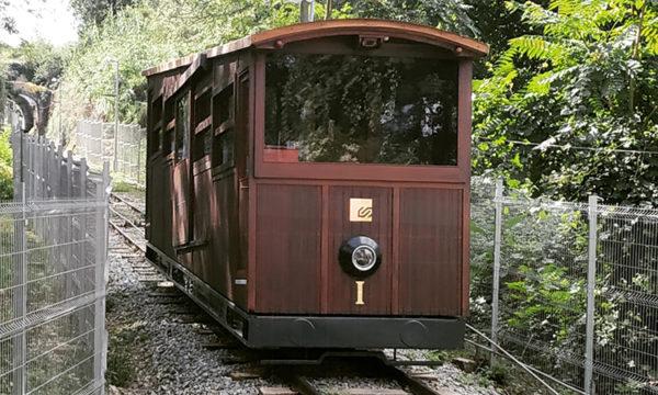 Gelida - La Bustia - funicular