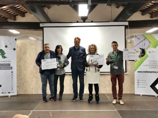 La Bustia Premis Concurs Iniciatives Empresarials Baix Llobregat Nord 2019 comerc