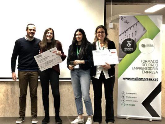 La Bustia Premis Concurs Iniciatives Empresarials Baix Llobregat Nord 2019 idea jove negoci El Cairat Esparreguera