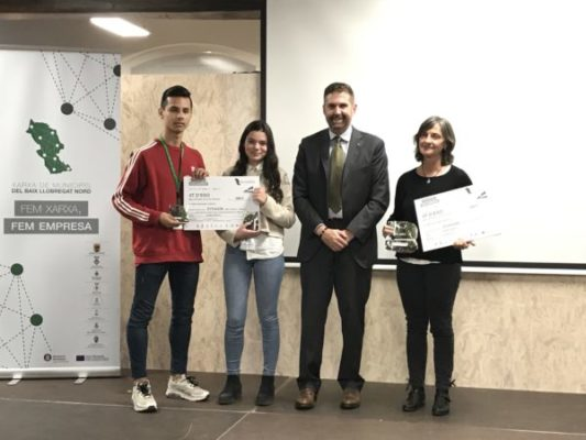 La Bustia Premis Concurs Iniciatives Empresarials Baix Llobregat Nord 2019 idea jove negoci Voltrera Abrera