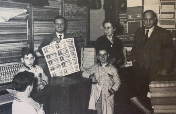 La Bustia loteria primer premi 1953 Esparreguera