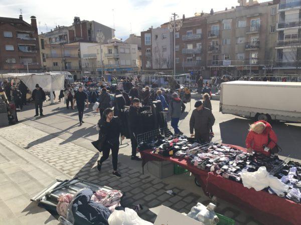 La Bustia mercat ambulant Olesa