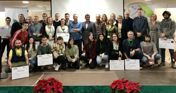 La Bustia premiats Concurs Iniciatives Empresarials Baix Llobregat Nord 2019
