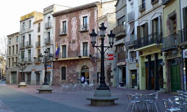Martorell - La Bustia - la vila