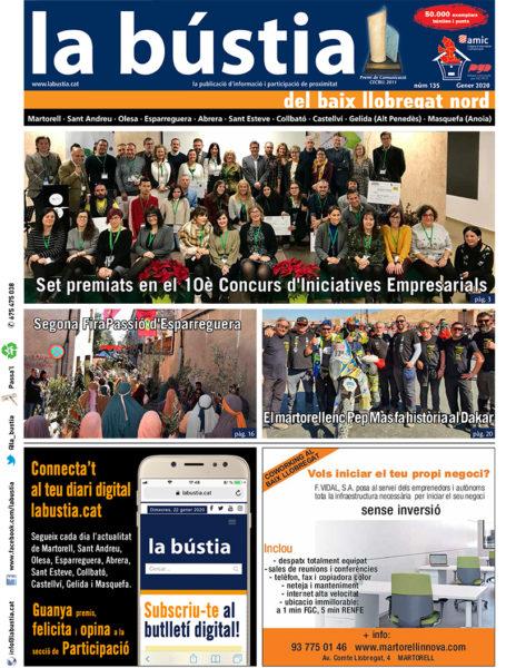 Comarca - La Bustia - portada gener 2020