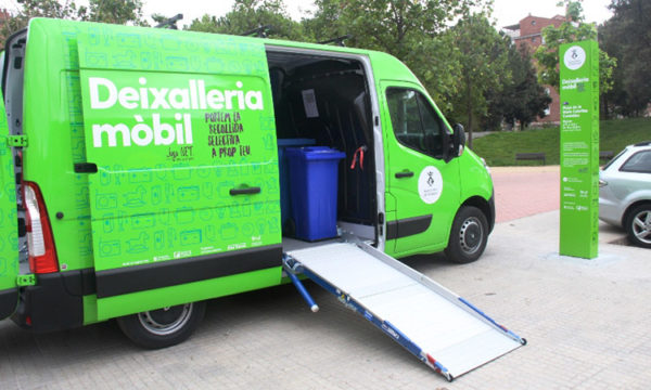 Martorell - La Bustia - deixalleria mobil