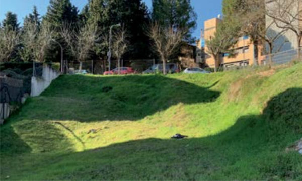 Sant Esteve - La Bustia - obres aparcament